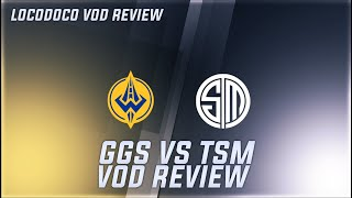 TSM vs GGS - What's wrong with TSM? - LCS Week 3 Locodoco [ VOD Review ]