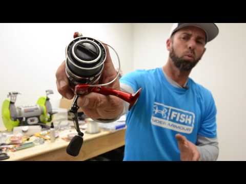 Ike In The Shop: How To Spool A Spinning Reel