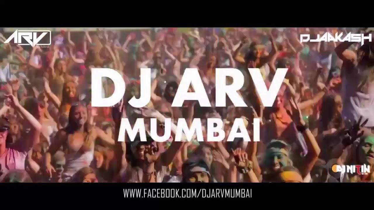 HOLI YA MEIN REMIX DJ ARV Mumbai & DJ AAKASH VISUALS BY VDJ NITIN by Dj  Nitin