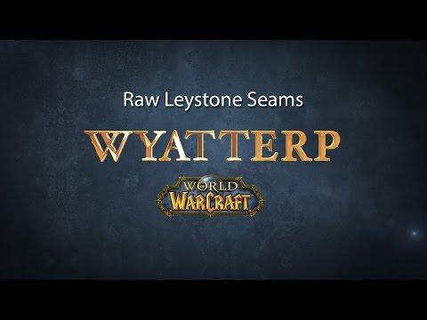 """WoW Mining World Quest """"Raw Leystone Seams"""""""