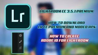 LIGHTROOM CC 3.5.1 PREMIUM APK
