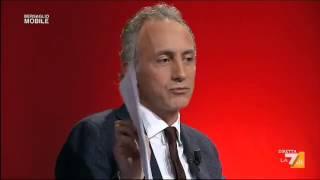 """Travaglio vs Renzi: """"Chi ha copiato il Jobs Act?"""""""