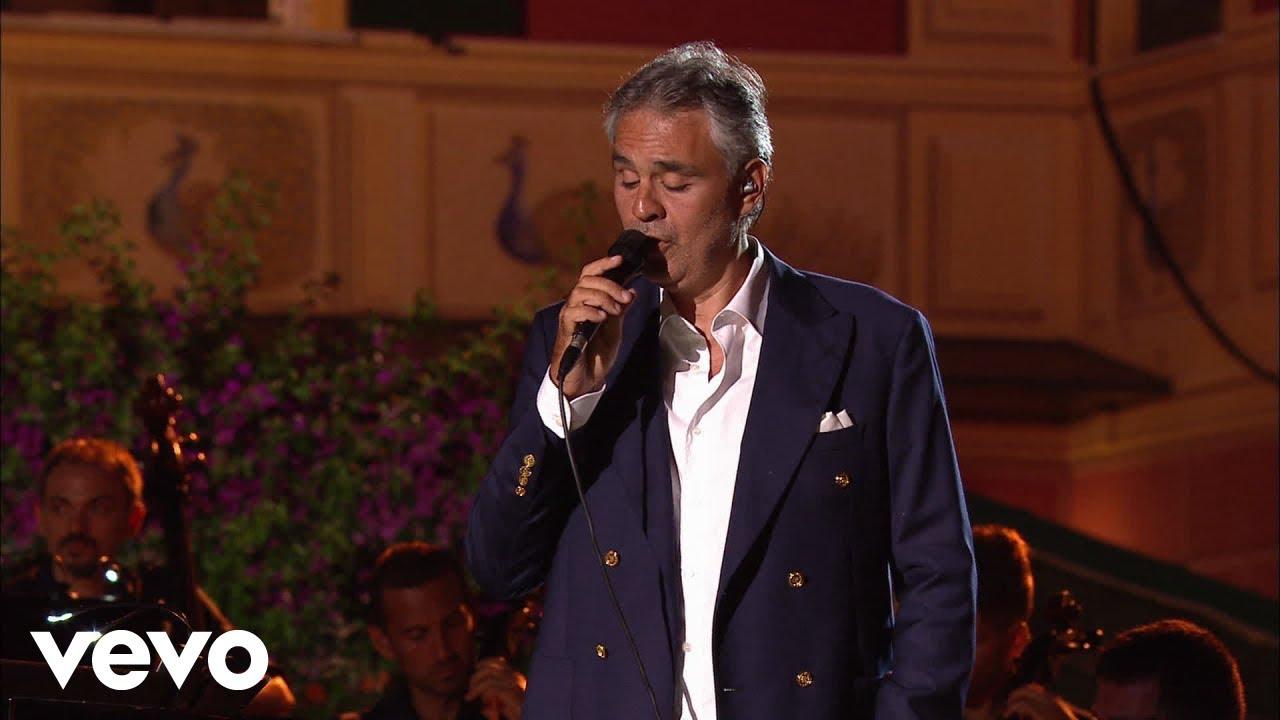 Andrea Bocelli Perfidia Live 2012 Youtube