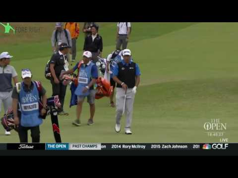 Hideki Matsuyama (5th Hole Practice) ~ 2017 Open Championship