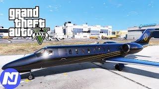 GTA 5 - Công việc làm nhân viên lái máy bay chở khách | ND Gaming