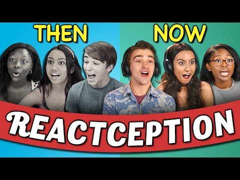 COLLEGE KIDS REACT TO THEMSELVES ON TEENS REACT #2