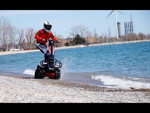 DTV Shredder - Stand-up Tracked Vehicle