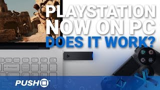 PlayStation Now on PC: Does It Work? | PS3 Gameplay Streaming | Gaikai Footage