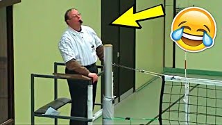 Funniest Referee Ever !? Funny Volleyball Videos (HD)