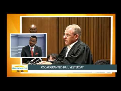 Michael Motsoeneng on Oscar Pistorius' case, pt1
