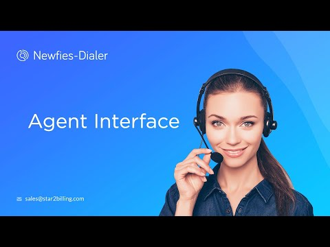 Newfies-Dialer Agent Interface