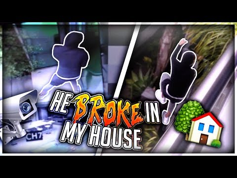 Thumbnail: Homeless man Breaks into my House.. (Live footage)