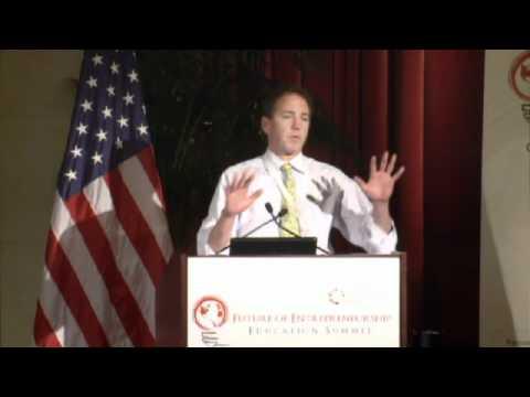 John Katzman, Princeton Review, Speaks at the Nov 2011 Future of Entrepreneurship Education Summit