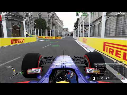 F1 2017 AOR Baku Azerbaijan