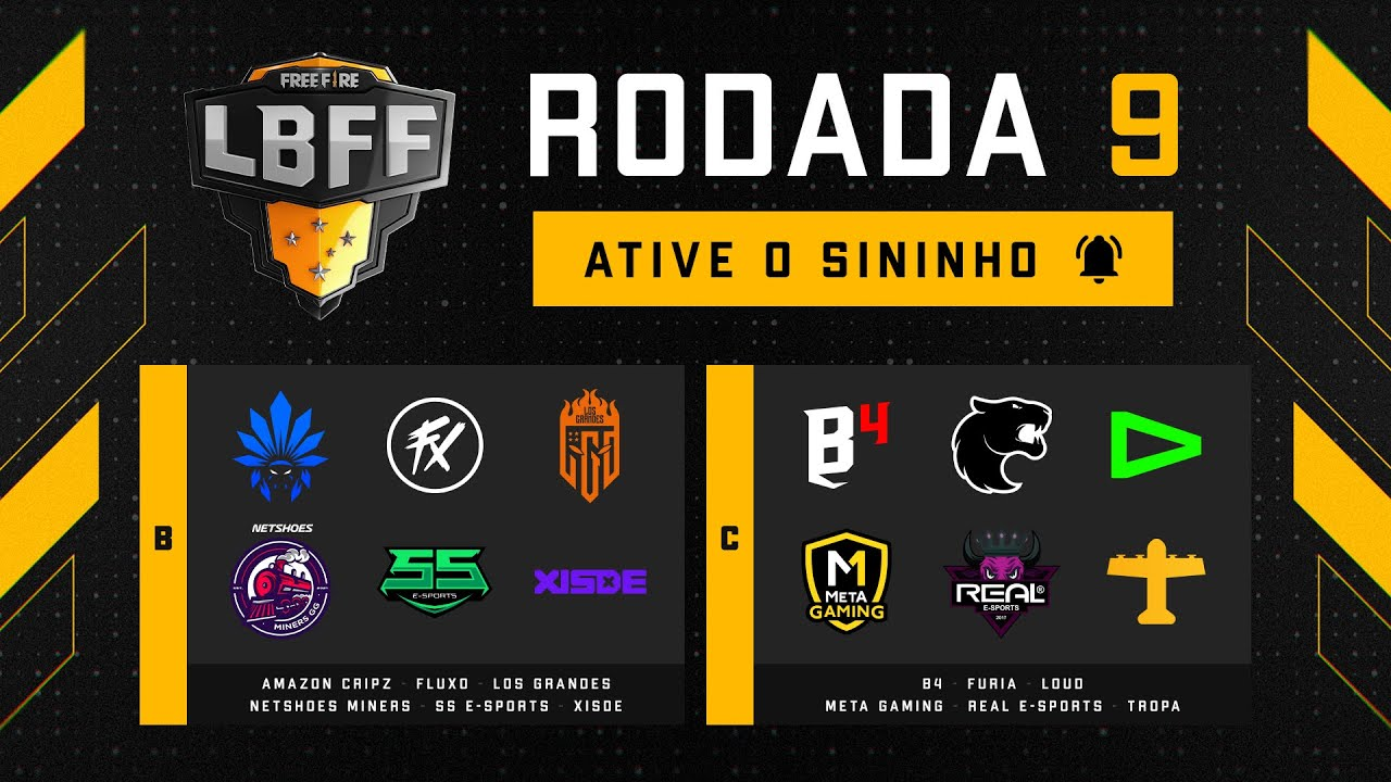 Download LBFF 6 - Rodada 9 - Grupos B e C   Free Fire