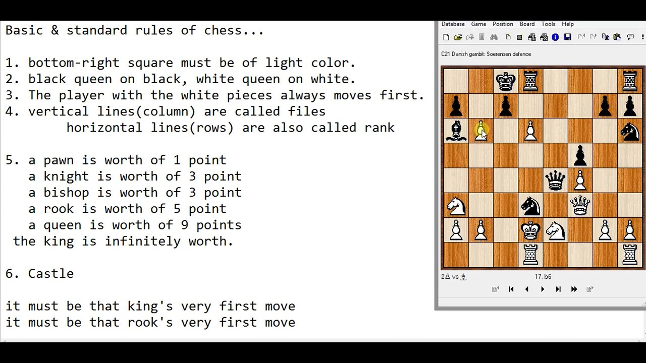 Basic rules of Chess | How to play Chess in Hindi | Learn ...