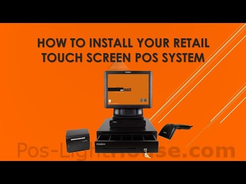 How To Install Retail Touch Screen POS System - YouTube