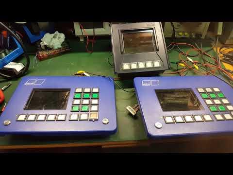 MTU electronic service repair and troubleshooting. Display monitor screen. Reparar electrónica.