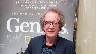 """Geoffrey Rush on """"Genius"""" and Albert Einstein"""