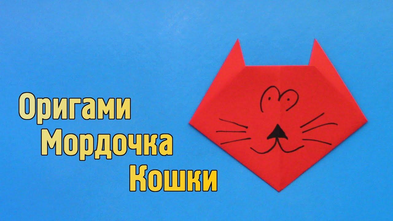 Как сделать мордочку кошки
