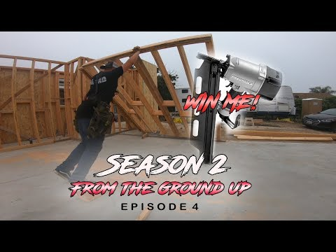 """From The Ground Up   Ep. 4 (Pt. 1) - """"Garage Headers And Giveaways!"""""""