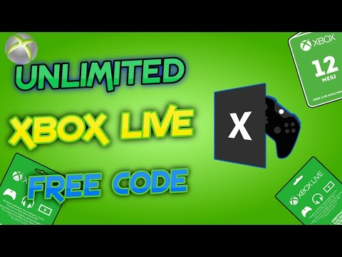 - Free Xbox Live Gold!! -TOOLS CODE GENERATOR-2017-Free Download-