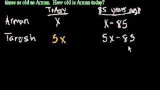 Задачи про возраст 2