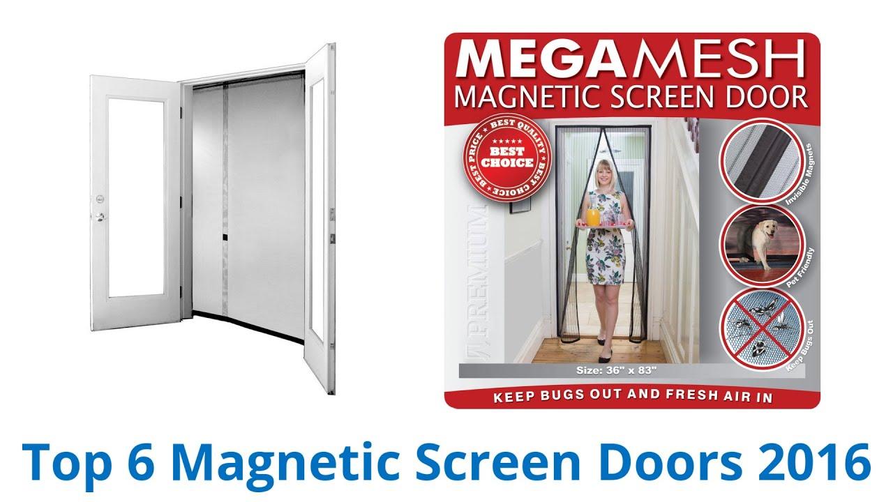 6 Best Magnetic Screen Doors 2016