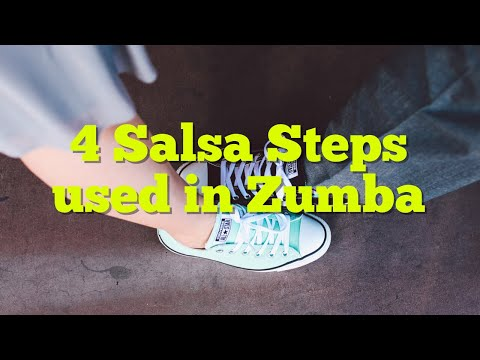 4 Basic Salsa Steps for Zumba