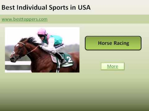 Top 10 Best Individual Sports in USA - www besttoppers com