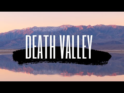 Reflections and Salt Flats in Death Valley  |  Landscape Photography Vlog