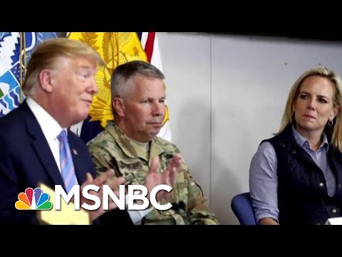 Nielsen Resisted President Trump's Push To Reinstate Family Separation Policy | Craig Melvin | MSNBC