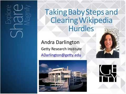 Improving Wikipedia Show and Tell (Webinar Recording)