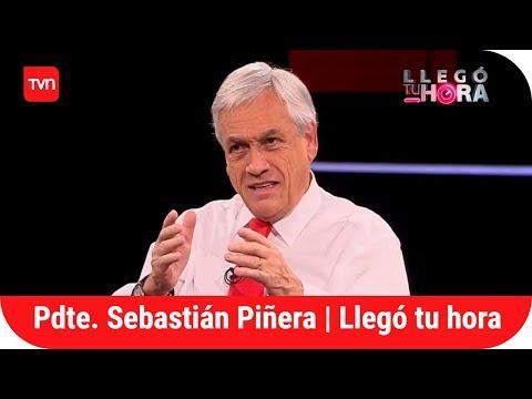 Presidente Sebastián Piñera   Llegó tu hora - T1E1