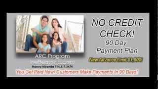 No Credit Check Program - Bad Credit Or No Credit Loans