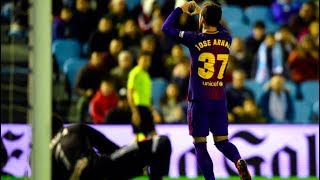 Celta Vigo vs Barcelona [1-1] - Copa del Rey, 2018 - Jose Arnaiz Shines!