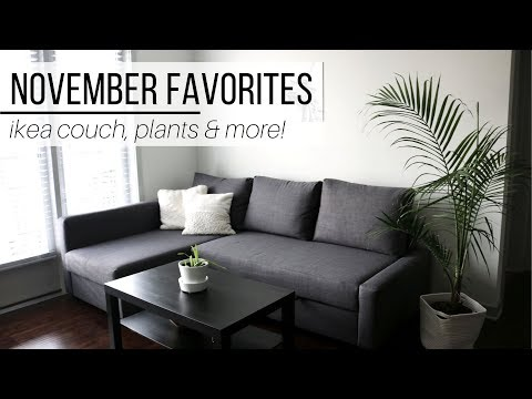 MINIMALIST NOVEMBER FAVORITES | ikea couch, new pant, & more!