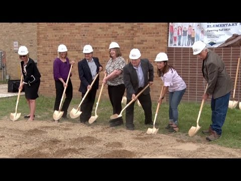 ISD 318 Breaks Ground At Cohasset Elementary School