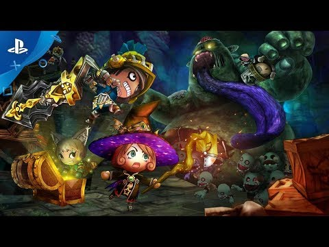 Happy Dungeons - Launch Trailer | PS4