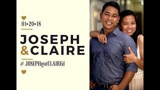Gambar cover Joseph and Claire Prenup VIdeo - #JOSEPHgotClaired