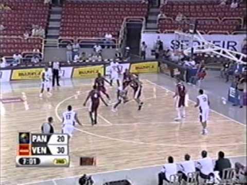 Pre-Mundial de Baloncesto Mayor Masculino - 2005 - Venezuela 71 - 70 PANAMA