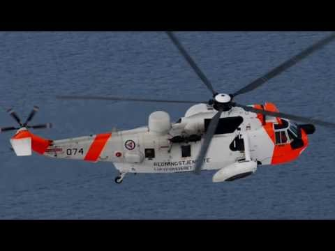 The new Norwegian AW101 All-Weather SAR Helicopter