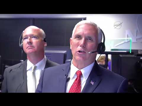 Vice President Pence Talks with Astronauts on Space Station