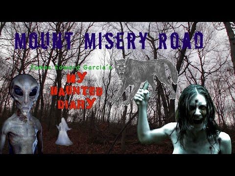 MOUNT MISERY ROAD REAL Scariest Moments On Film Long Island Paranormal Ghosts MY HAUNTED DIARY