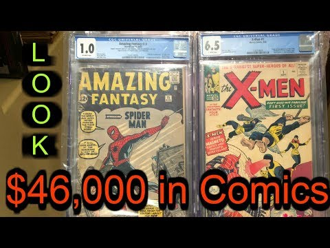 Storage Wars We got our First Comics Back from CGC Marvel DC Spiderman $46,000