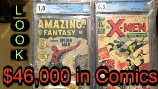Storage Wars We got our First Comics Back from CGC Marvel DC S…