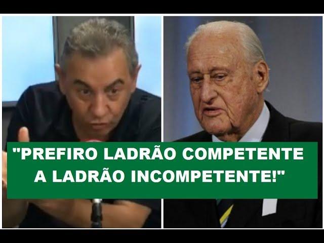 """Prefiro LADRÃO competente a incompetente"", polemiza FLAVIO"
