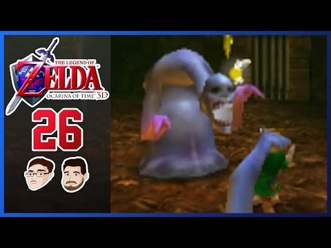 Zelda Ocarina of Time 3D - PART 26: Lost in the Well... - GoofGroup Co-op Lets Play