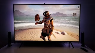 Testing Game Motion Plus on the Samsung Q60R 4k HDR TV
