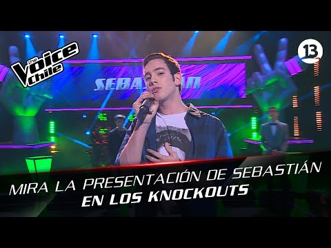 The Voice Chile - Sebastián Zerené - Baby can I hold you